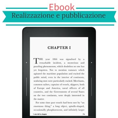 Realizzazione e pubblicazione Ebook