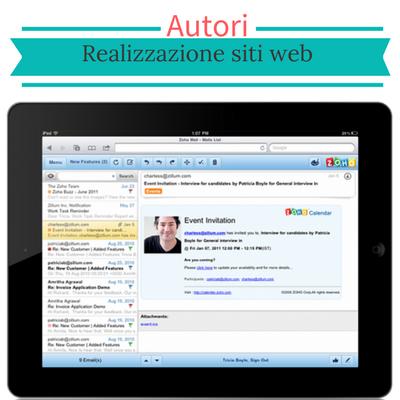 Realizzazione siti web autore